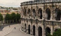 Arena of Nimes is the best preserved Roman amphitheatre in the world.