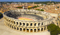 Minivan tour to Arles and see its impressive Roman amphitheatre.