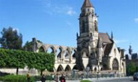 Take a guided tour of Caen; the largest city in Lower Normandy.