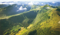 Tour the Cantal mountains some of the world's largest  extinct volcanoes.