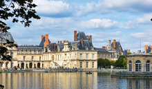 The Gros Pavilion in Fontainebleau: royal apartments built in mid-18th C