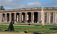 Your trip will take you  to the Grand Trianon; a royal retreat.