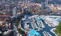 Tour Monaco, one of the smallest and most densely populated countries in the world.