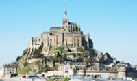 Mont Saint-Michel is one of the most recognisable landmarks in France.