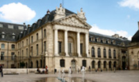 Tour the Palace of the Dukes of Burgundy; a city hall housing the mayor's office.