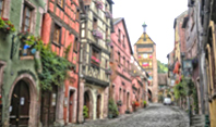 Riquewihr is a charming medieval village in Alsace renowned for its historical architecture.
