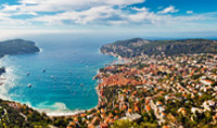 Travel to Saint-Jean-Cap-Ferrat; located on a peninsula in Southern France and a favourite holiday destination for its tranquillity and warm climate.