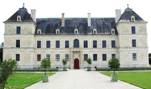 Chateau of Ancy-le-Franc, built in the 16th C by architect Sebastiano Serlio