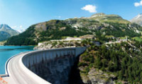 Travel to Tignes dam, the Highest dam in France.
